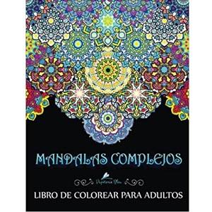 libro mandalas complejos para colorear adultos