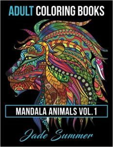 libro para colorear adultos animales zentagle