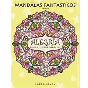 Libro Mandalas fantasticos, Alegria libro