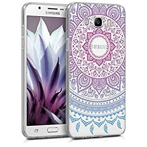 funda movil mandala degradado rosa celeste galaxy 7