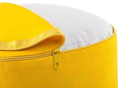 funda zafu amarilla