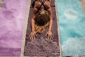 esterilla yoga colores a elegir turquesa, marengo y violeta