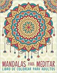 libros para colorear y meditar para adultos