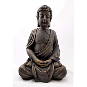 Buda piedra sentado