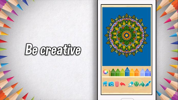Colorear mandalas on line, 5 apps que te sorprenderán.