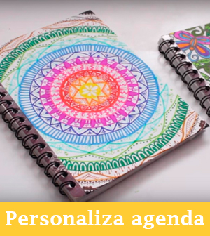 personalizar agenda con mandalas