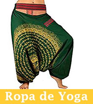ropa para practicar yoga