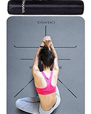 chica practicando yoga en esterilla