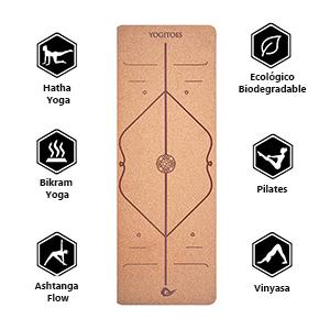 Esterilla para la práctica de yoga